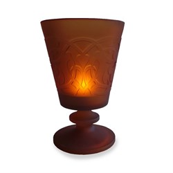 Footed Candle Copper 413-1