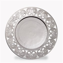 Leaf Ornament Plate SIL859